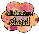 Collaborations closed button by StrawberryCakeBunny
