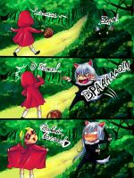 The true story of Little Red Riding Hood by Rudaxena