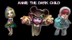 Annie the Dark Child Backgroun by moguinho