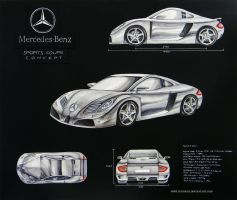 Mercedes-Benz Coupe concept by toyonda
