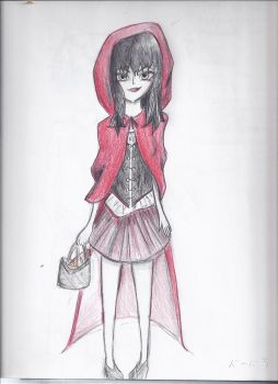 Red Riding Hood by Olliepup02