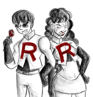 Endbound: Team Rocket by Greer-The-Raven
