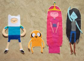 .: Adventure Time Papercuts :. by Radical-Rhombus-XD