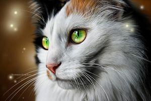Painting of a Friend I: Fireflies by ThreshTheSky