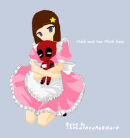 Me with chibi deadpool by transformers901