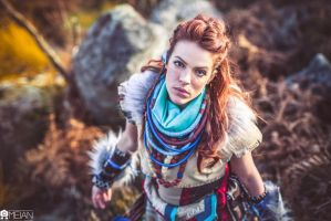 Aloy Cosplay by LiliDin