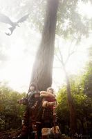 Hiccup, Astrid , Toothless by chidori-sagara