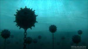 Underwater Minefield - Version 1 by JuanJoseTorres