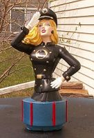 Lady Blackhawk custom sculped bust by BabyDollLJ