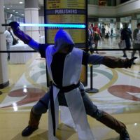 A Jedi uses the Force for knowledge and defense... by Starkiller-Cosplay