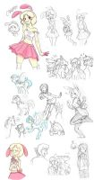 Doodle dump 3 by CandleBell