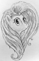 Flutters Sketchy by RedJack-Nine