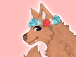 flower crowns over royal crowns by crazyDoggy