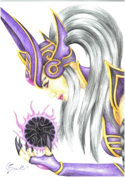 Syndra by Scalie