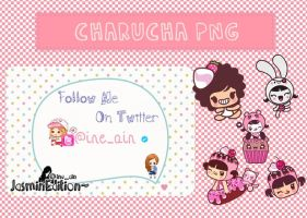 Charucha pack [PNG] by JasminEdition