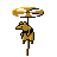 Flying Rat - Shovel Knight by UnableToFindName