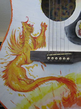guitar painting -finished lew by not-fun