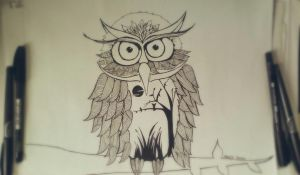 Owl by Maria0401