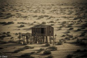Abandoned Desert Camp by DeoIron
