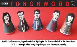 Team Torchwood Minis - 2 by mikedaws