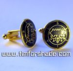 Duke Belial - Solomon Seal kabbalah cufflinks by TimforShade