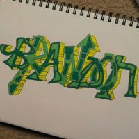 Graffiti-Brandon by icybran