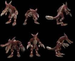 Spore Creation: Miracot by Existent-effigy