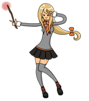 New ID: Me in Pottermore by AiTsukishi