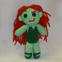 Poison Ivy Amigurumi by Aries-on-Mars