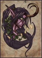Illidan Stormrage by Kizziesama