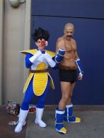 Nappa and Vegeta by SailorUsagiChan