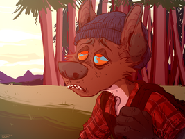 Red Forest Ych by SuperCrazyHyena
