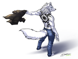 Sketch Commission -- Ulisses by elranno