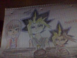 Happy Birthday Atem and Rei by QueenBrittStalin