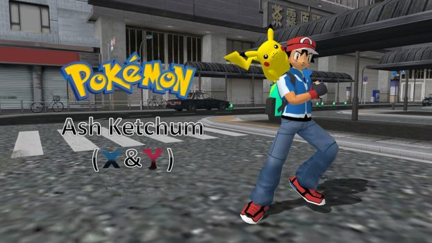 Ash Ketchum (X and Y anime appearence) by FatalitySonic2