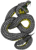 Heavy Metal Snake by teamzoth