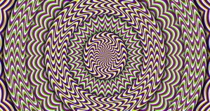 Rotation Expansion Contraction - Opticall Illusion by H-Flaieh