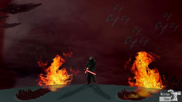 Fun with Photos - Kylo Ren by MrJechgo
