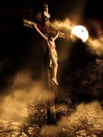 Jesus crucify by highigh
