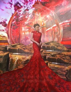 Missy High Queen of Gallifrey by SimmonBeresford