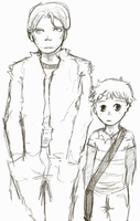 Tag Along Kid by goldenthyme