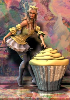 423 cupcake by rainbowtattoo