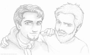 Bam and Ryan by kelly42fox