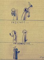FRIENDS ???... by myartisoriginal