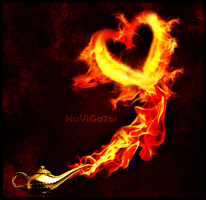 fire heart by NaViGa7or