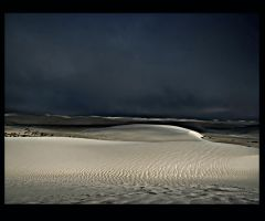 Dragon ripples on White Sands by CorazondeDios