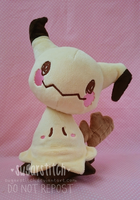 Pokemon: Mimikkyu V2 by sugarstitch