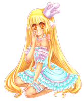 Pastel Princess Chii [collab] by Lettelira