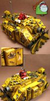 Imperial Fists Vindicator by HomeOfCadaver
