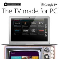 The TV made for PC by MetroUI